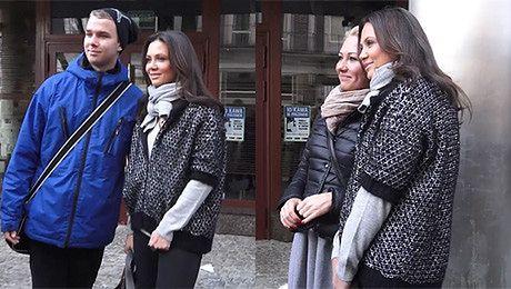 Rusin robi sobie zdjęcia z fanami