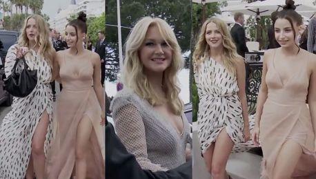 Nierozłączne Wieniawa i Mercedes kokietują paparazzi w Cannes
