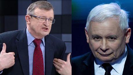 Cymański o Kaczyńskim Uważam że jest NIEOCENIONY Nie odejdzie z polityki