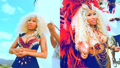 Nicki Minaj kręci teledysk na Karaibach