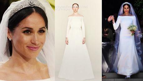 Suknia ślubna Meghan Markle to plagiat Do sieci trafiło oświadczenie
