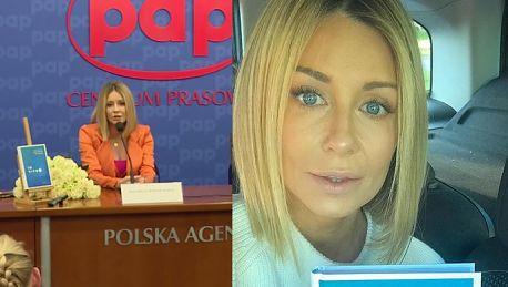 Małgorzata Rozenek Z przerażeniem obserwujemy jak bardzo cofa się Polskę
