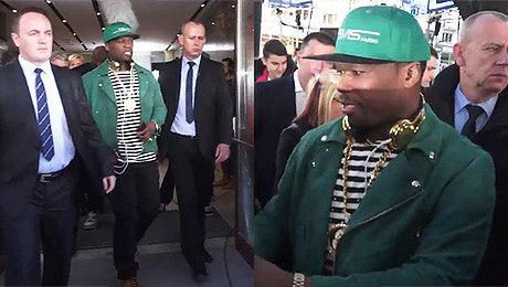 50 Cent wita fanów pod studiem Dzień Dobry TVN