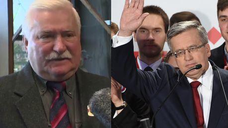 Wałęsa o porażce Komorowskiego Za długo okopujemy stanowiska MŁODE WILCZKI ATAKUJĄ