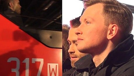 Wesołowski i Zakościelny w wozie strażackim Sprawdzą się w nowej roli
