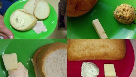 Tak w Krakowie jedzą dzieci chore na raka SUCHA BUŁKA I SZARA BREJA