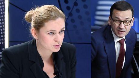 Nowacka o ustawie antyprzemocowej Morawiecki musiał się wycofać z idiotycznego projektu