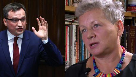 Profesor Płatek o Zbigniewie Ziobrze To wstyd dla Polaków że taki człowiek reprezentuje resort