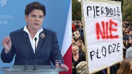 Szydło o debacie na temat protestów w Polsce Unia Europejska ciągle zajmuje się wydumanymi tematami