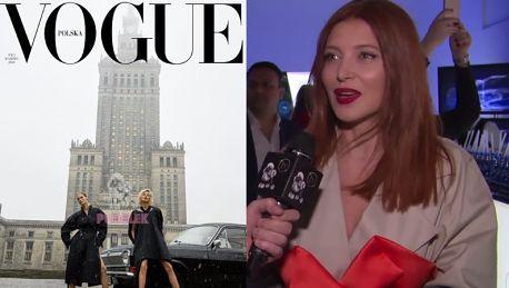 Fijał broni okładki Vogue Polska Jesteśmy przyzwyczajeni do schematów Szarość zaskoczyła