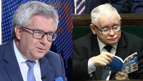 Ryszard Czarnecki o prezentach dla Jarosława Kaczyńskiego Bardzo dużo czyta i lubi książki