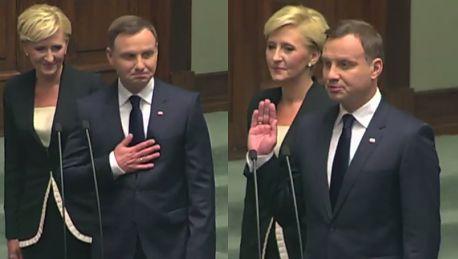 Andrzej Duda prezydentem Polski Zobaczcie zaprzysiężenie