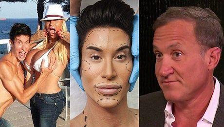 Chirurg plastyczny Jeśli chcesz wyglądać jak inna osoba musisz iść DO PSYCHIATRY nie do chirurga