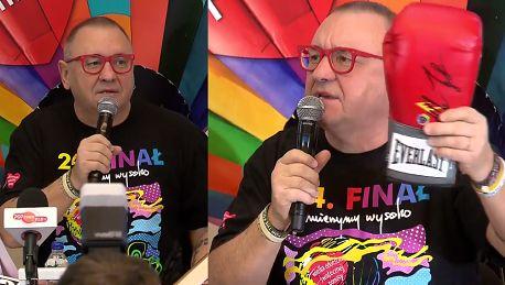 Owsiak o finale WOŚP Możemy licytować narty prezydenta Dudy buty Lewandowskiego używany krawat Kwaśniewskiego