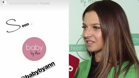 TYLKO U NAS Lewandowska rozwija swoje biznesy Zakładamy markę Baby by Ann Stworzymy świat mamy dla mam