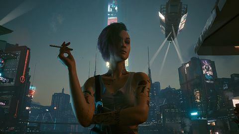 Dlaczego w Cyberpunku 2077 wszyscy palą papierosy?