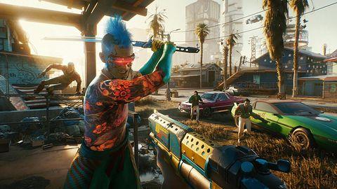 Cyberpunk 2077 na Xbox Series X. CD Projekt robi niespodziewany pokaz