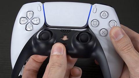 Pad do PS5 kryje w sobie ciekawy detal. DualSense ze ściąganym przednim panelem