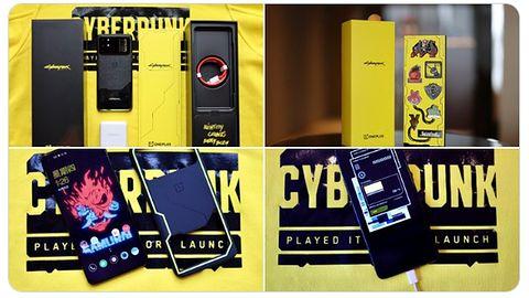 A tak wygląda OnePlus 8T w wersji Cyberpunk 2077