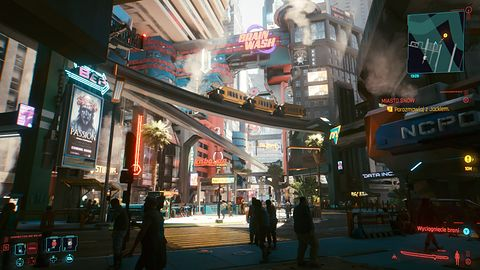 Cyberpunk 2077. Premiera za rogiem, a na giełdzie niepokój
