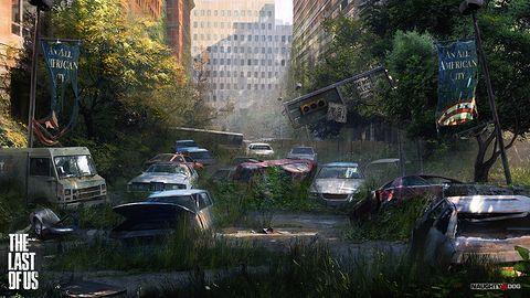 Zobacz prace koncepcyjne do The Last of Us - polskiego autorstwa