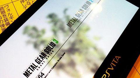 Metal Gear Solid HD Collection trafi również na PS Vita