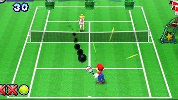 Mario i Luigi spocą się na korcie [Mario Tennis Open]