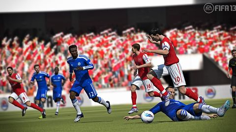 Bramki są dwie, a FIFA trzynasta [FIFA 13]