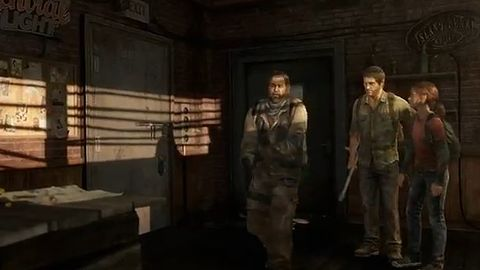 Joel i Ellie znajdują towarzysza [The Last of Us]