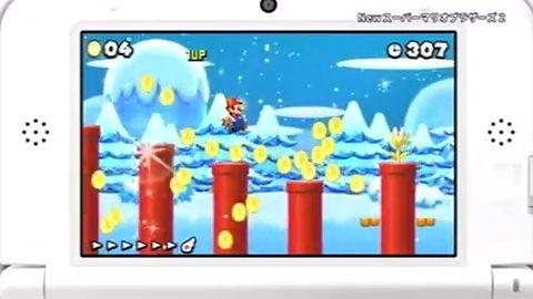 Pokłady dwuwymiarowej słodyczy i wąsaty hydraulik [New Super Mario Bros. 2]