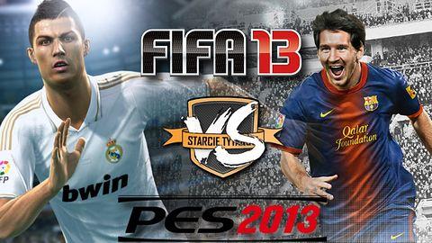 Starcie Tytanów: FIFA 13 kontra PES 2013 [KAŻDY GŁOS SIĘ LICZY]