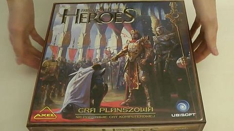 Heroes of Might and Magic - gra planszowa. Co kryje się w pudełku?