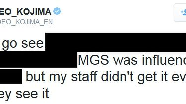 Zagadka: na co Hideo Kojima chce iść do kina?