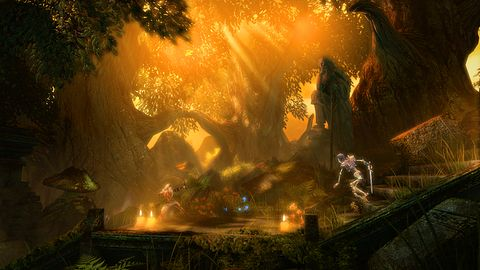 Trine 1 + silnik Trine 2 = Trine Enchanted Edition (i multiplayer)