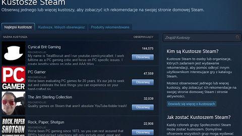 Steam rośnie: ma już 100 milionów użytkowników. A kim są Kustosze?