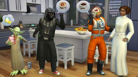 Nie mówcie, że nie czekaliście na stroje rodem ze Star Wars w The Sims 4