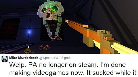 Paranautical Activity zniknęło ze Steama, bo jego twórca... groził Gabe'owi Newellowi