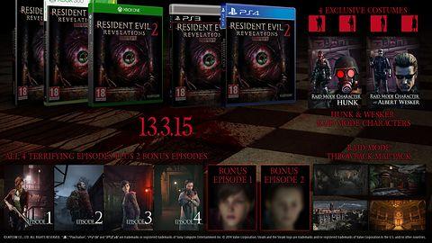Resident Evil: Revelations 2 ma nowy zwiastun. Wyjdzie w epizodach i w pudełku