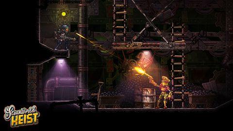 Turowa strzelanina na pierwszym gameplayu ze SteamWorld Heist