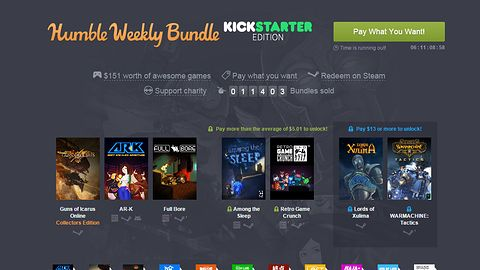 Nowy Humble Bundle stoi pod znakiem gier z Kickstartera