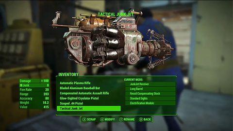 Fallouta 4 można skończyć bez zabawy w crafting