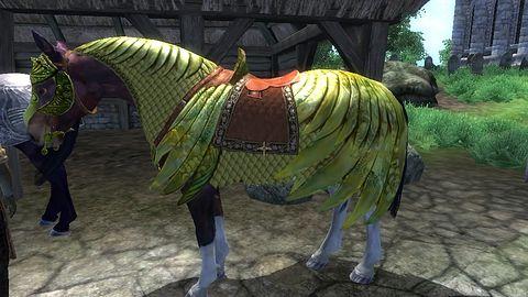 Dobry żart tynfa wart - zbroja dla konia podrożała