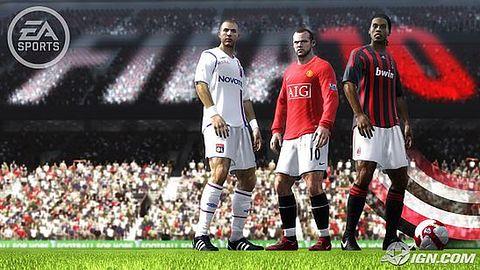 Pierwsze obrazki z FIFA Soccer 10