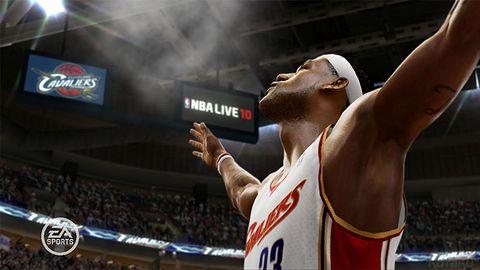 Pierwszy obrazek z NBA Live 10