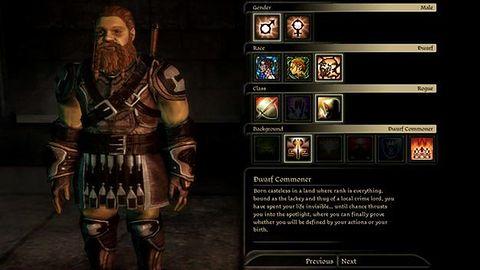 Informacja prasowa: Stwórz już teraz własną postać do gry Dragon Age: Początek