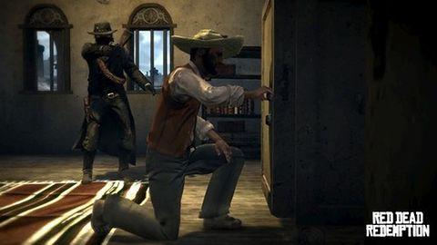 Nieogolone ujęcia z Red Dead Redemption