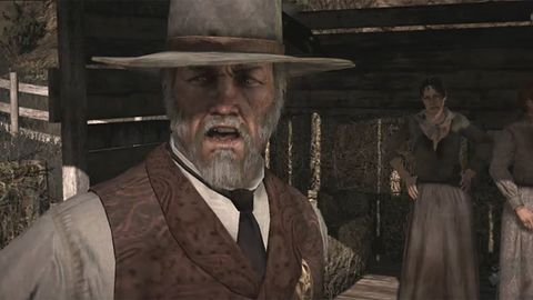 Stróże prawa z Red Dead Redemption