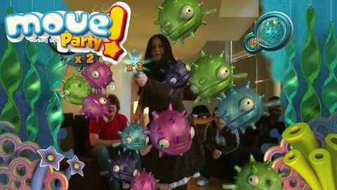 Move Party - minigierki, Move, rzeczywistość rozszerzona