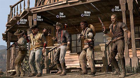 8 wspaniałych, czyli nowa galeria z multiplayera w Red Dead Redemption