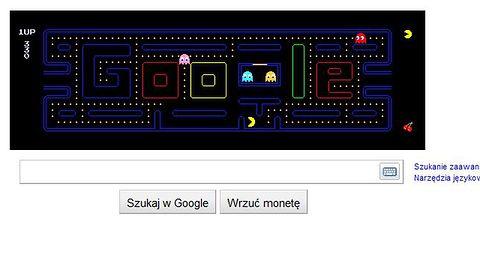 Pac-Man i Google obniżyły produktywność